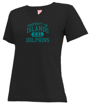Islands Elementary School V-neck Shirts