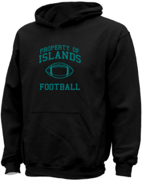 Islands Elementary School Kid Hooded Sweatshirts