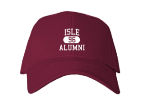 Isle High School Embroidered Baseball Caps
