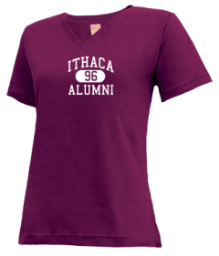 Ithaca High School V-neck Shirts