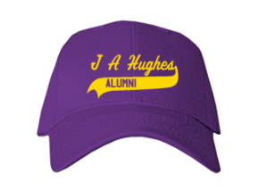 J A Hughes Elementary School Embroidered Baseball Caps
