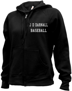 J D Darnall High School Zip-up Hoodies