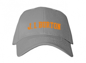 J. I. Burton High School Kid Embroidered Baseball Caps