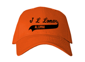 J L Lomax Elementary School Embroidered Baseball Caps