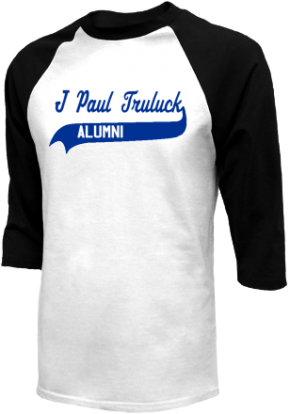 J Paul Truluck Middle School Raglan Shirts
