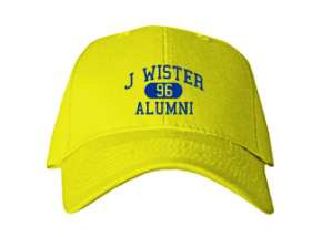 J Wister Elementary School Embroidered Baseball Caps