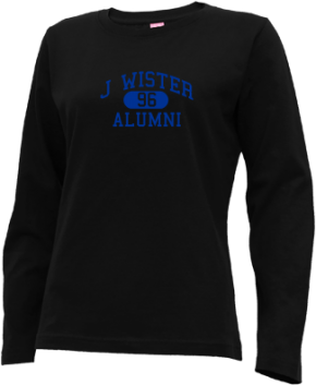 J Wister Elementary School Long Sleeve Shirts