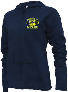 J Wister Elementary School Girls Zipper Hoodies