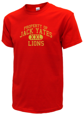 Jack Yates High School T-Shirts