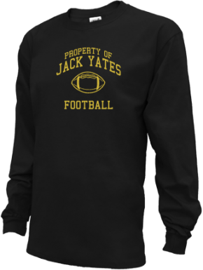 Jack Yates High School Kid Long Sleeve Shirts