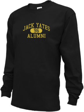 Jack Yates High School Long Sleeve Shirts