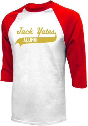 Jack Yates High School Raglan Shirts