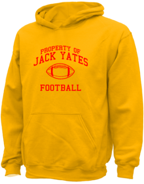 Jack Yates High School Kid Hooded Sweatshirts