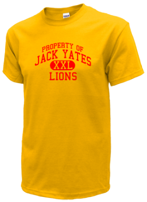 Jack Yates High School Kid T-Shirts