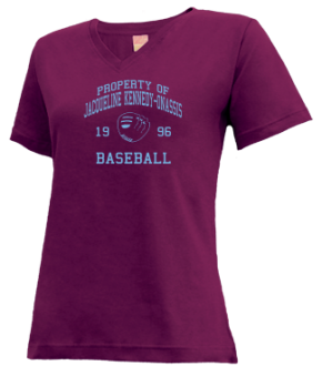 Jacqueline Kennedy-onassis High School V-neck Shirts