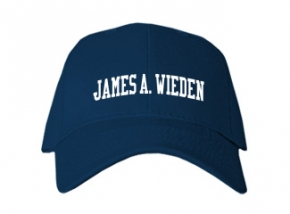 James A. Wieden High School Kid Embroidered Baseball Caps