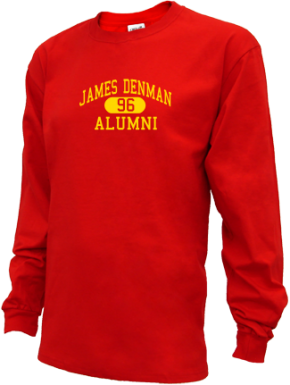 James Denman Middle School Long Sleeve Shirts