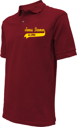 James Denman Middle School Embroidered Polo Shirts