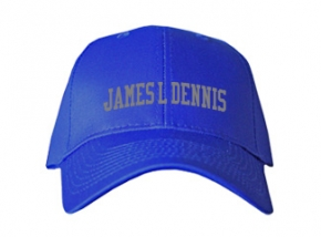 James L Dennis Elementary School Kid Embroidered Baseball Caps