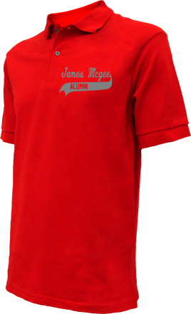 James Mcgee Elementary School Embroidered Polo Shirts
