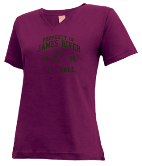 James River High School V-neck Shirts