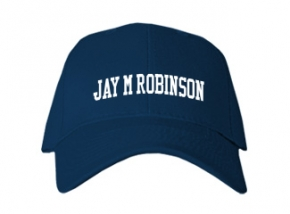Jay M Robinson High School Kid Embroidered Baseball Caps