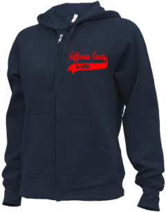 Jefferson County High School Zip-up Hoodies
