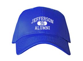 Jefferson Middle School Embroidered Baseball Caps