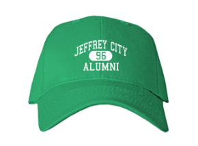 Jeffrey City Elementary School Embroidered Baseball Caps