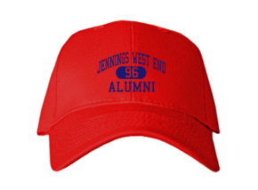 Jennings West End Elementary School Embroidered Baseball Caps
