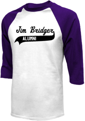 Jim Bridger Junior High School Raglan Shirts