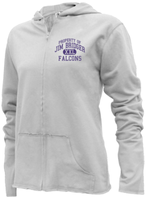 Jim Bridger Junior High School Girls Zipper Hoodies