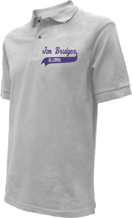 Jim Bridger Junior High School Embroidered Polo Shirts