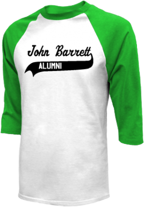 John Barrett Middle School Raglan Shirts