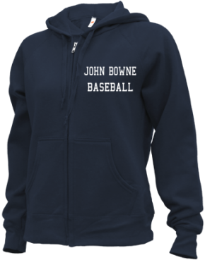 John Bowne High School Zip-up Hoodies
