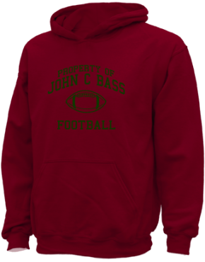 John C Bass Elementary School Kid Hooded Sweatshirts