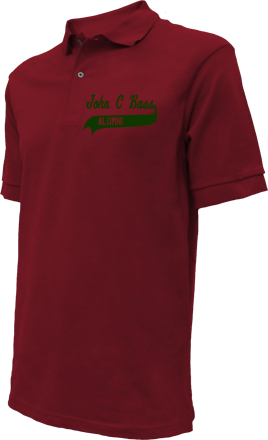 John C Bass Elementary School Embroidered Polo Shirts