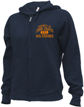 John Chavis Middle School Zip-up Hoodies