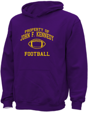 John F. Kennedy High School Kid Hooded Sweatshirts