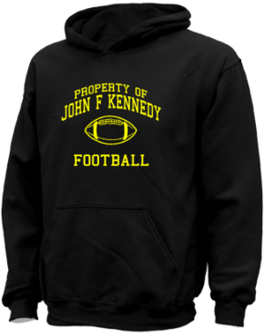 John F Kennedy Middle School Kid Hooded Sweatshirts