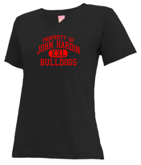 John Hardin High School V-neck Shirts