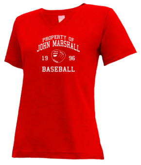 John Marshall High School V-neck Shirts