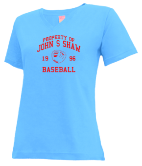 John S Shaw High School V-neck Shirts