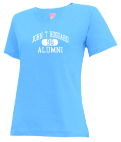 John T Hoggard High School V-neck Shirts