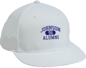 Johnson Elementary School Flat Visor Caps