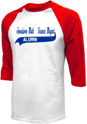 Jonesboro Math & Science Magnet School Raglan Shirts