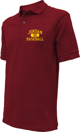 Jordan High School Embroidered Polo Shirts