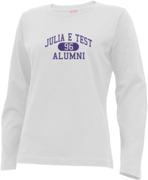 Julia E Test Middle School Long Sleeve Shirts