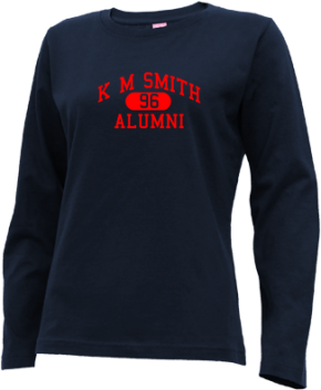 K M Smith Elementary School Long Sleeve Shirts