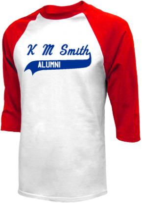 K M Smith Elementary School Raglan Shirts